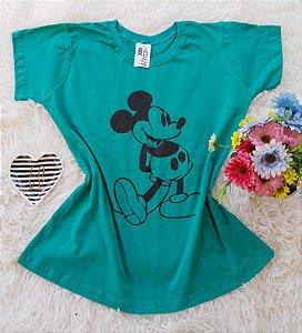 T-Shirt Feminina Mickey Grande Bandeira