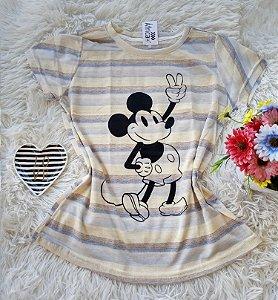 T-Shirt Feminina  Mickey Grande