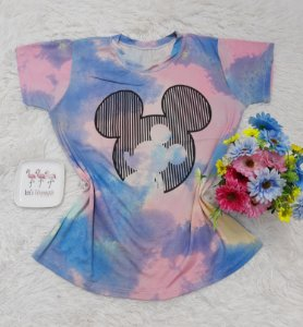 T-Shirt no Atacado  Tie Dye Mickey