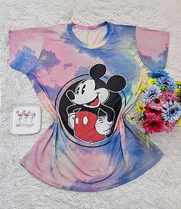 T Shirt no Atacado Mickey Tie Dye