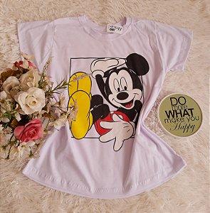 Camiseta Atacado Mickey Branco