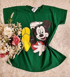 Camiseta Atacado  Mickey Verde