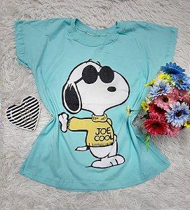 T Shirt no Atacado Snoopy Azul