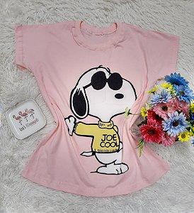 T Shirt no Atacado Snoopy Rosa