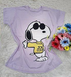 T Shirt no Atacado Snoopy Lilás