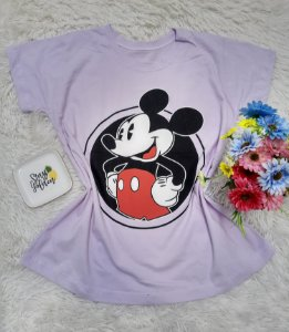 T Shirt no Atacado Mickey Lilás