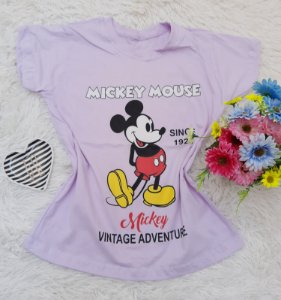 T Shirt no Atacado Mickey Mouse Lilás