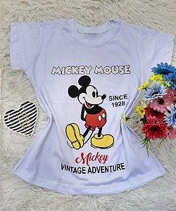 T Shirt no Atacado Mickey Mouse Branca