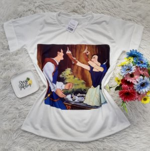 T-Shirt No Atacado Branca De Neve