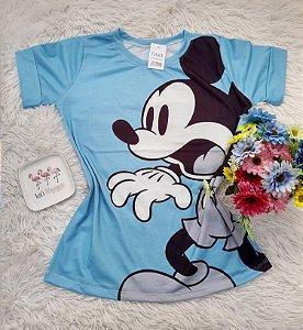 T-Shirt No Atacado Mickey Azul