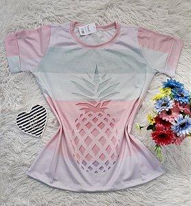 T-Shirt No Atacado Abacaxi