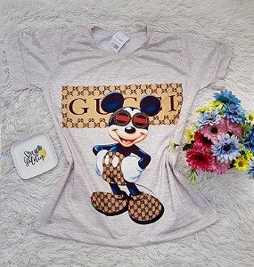 T-Shirt No Atacado Mickey Gucci