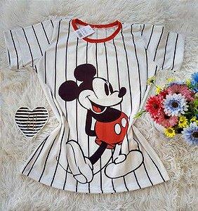 T-Shirt Feminina  Mickey Listras