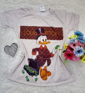 T-Shirt No Atacado Louis Vitton