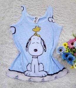 Regata No Atacado Snoopy Mascote