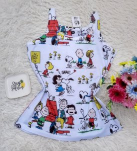 Regata No Atacado Turma Snoopy