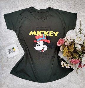 Tee No Atacado Mickey Chapéu
