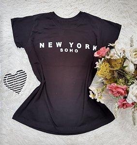 T-Shirt No Atacado New York  Preto