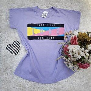 Camisa No Atacado Love Lilás