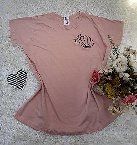 Camisa No Atacado Amar Nude
