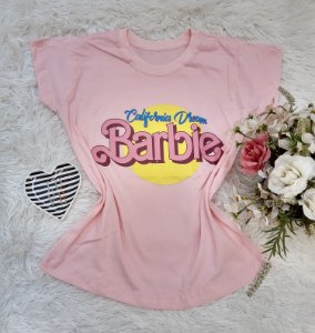 Camisa  No Atacado Barbie Rosa