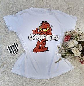 Camisa  No Atacado Garfield Off-White