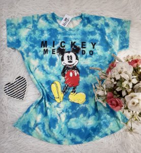 Camiseta No Atacado Tie Dye Mickey Me Do