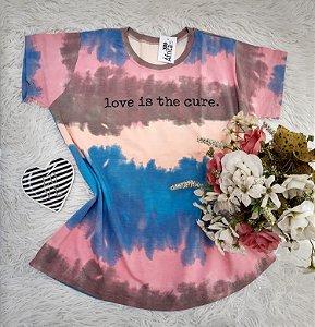 Camiseta No Atacado Tie Dye Love