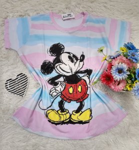 Camiseta No Atacado Mickey Desenho