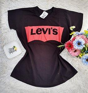 Camiseta No Atacado Levis Preto