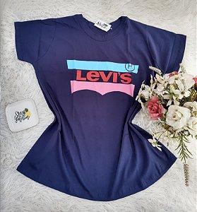 Camiseta No Atacado Levis Marinho