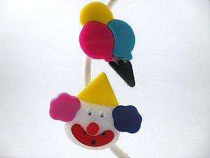 Bico de Pato (Par) Coleção Lúdica Fita Flor Acessórios. Divertido (Balão/Palhaço)