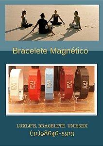 Pulseira Bracelete do Equilíbrio com Infravermelho e Ímanes  EVI POWER