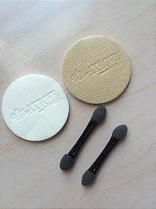 Kit acessório - esponja + aplicador de sombra - MAX LOVE