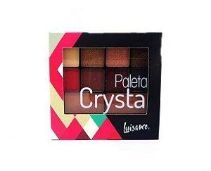Paleta de sombras e contorno facial - Crystal - Luisance