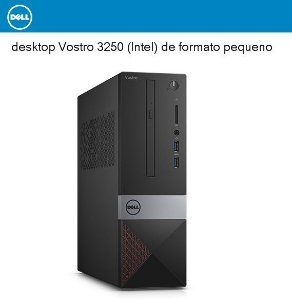 Dell Desktop Vostro 3250 Intel Core I3-6100 3.7ghz, 4gb Ram, 500gb Hd, Dvd, Wi-fi, Sistema Windows 10