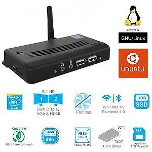 MiniPC Etecnet E1 64GB com Linux