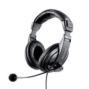 Headset (Fone de Ouvido e Microfone) Giant USB Notebook e PC – Multilaser