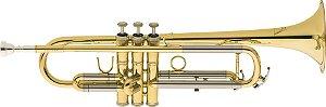 Trompete Eagle Tr504 Sib Bb Laqueado C/ Estojo