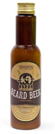 Shampoo Beard Beer Barba e Cabelo - Barba de Respeito - 170ml