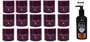 KIT 15 Und Desodorante Pierre Alexander Creme Antitranspirante + Sabonete Lorkin