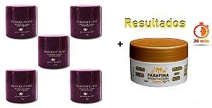 KIT 5 Und Desodorante Pierre Alexander Creme Antitranspirante + Parafina Lorkin