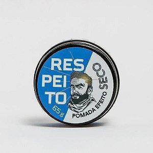 Pomada Modeladora Efeito Seco Barba de Respeito 65g