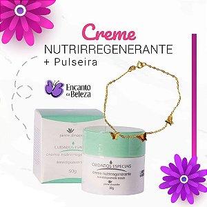 Creme Nutriregenerante 50g - Pierre Alexander + Brinde Pulseira Borboleta