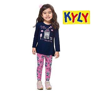 Conjunto blusa e legging Kyly