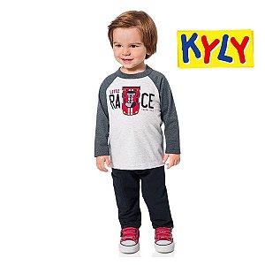 Conjunto camiseta e calça Kyly