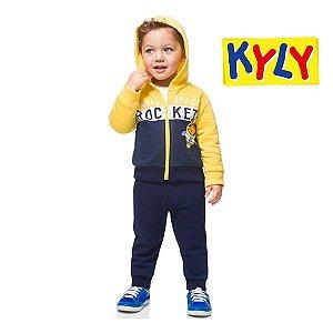 Conjunto jaqueta e calça Kyly