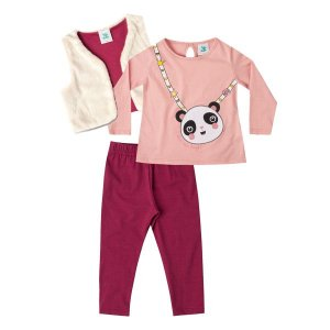 Trijunto blusa, colete e calça Marlan