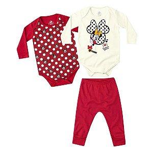Kit Disney com 2 bodies e calça por Marlan