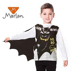 Camiseta BVS com capa por Marlan